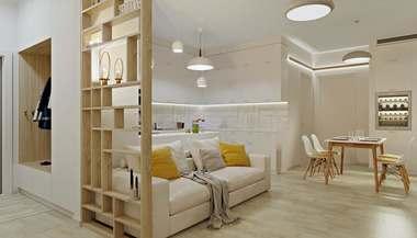 Проект 2-комнатной квартиры в ЖК «Триколор»