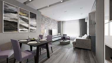 Проект объединения двух квартир в Мытищах