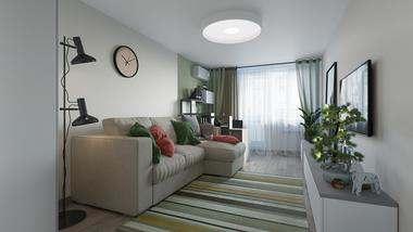 Проект 3-комнатной квартиры серии П-3 в Ясенево