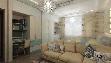 Дизайн-проект трехкомнатной квартиры, перепланирвка И-155