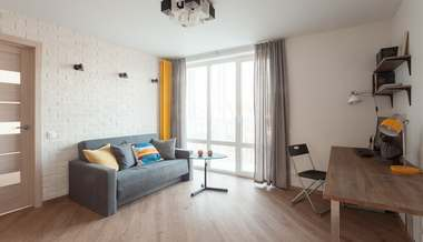 Дизайн двухкомнатной квартиры 38 кв.м. серии II-18/9, м. «Динамо»