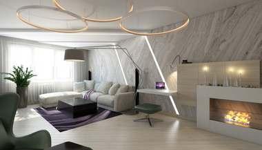 Проект 3-комнатной квартиры серии П-44Т в Красногорске