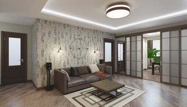 Дизайн четырехкомнатной квартиры 112 кв.м., Реутов
