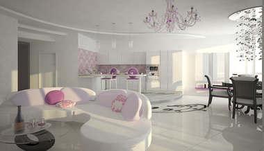 Дизайн трехкомнатной квартиры | Дизайн проект трехкомнатной квартиры, ЖК Аэробус