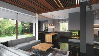 Дизайн дома 145 кв.м. в ЖК «Западная Долина»