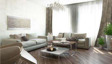 Дизайн трехкомнатной квартиры 100 кв.м., Старый Арбат
