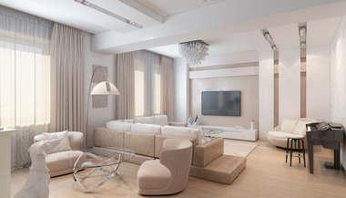 Дизайн сталинских квартир, проект интерьера сталинки, фото интерьеров