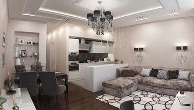 Дизайн и перепланировка 3-х комнатной квартиры в ЖК Лосиный остров