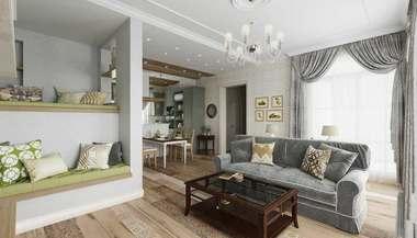 Интерьер будущего дома в Софрино