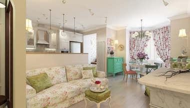 Трехкомнатная квартира площадью 79 кв.м., Новая Москва