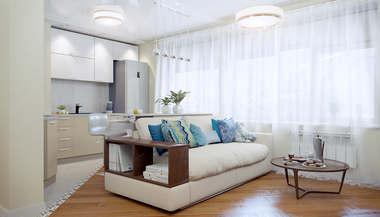 Дизайн и перепланировка квартиры серии II-68-01 площадью 70 кв.м.