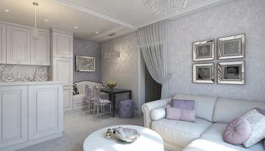 Дизайн-проект трехкомнатной квартиры 80 кв.м. на м. Шаболовская