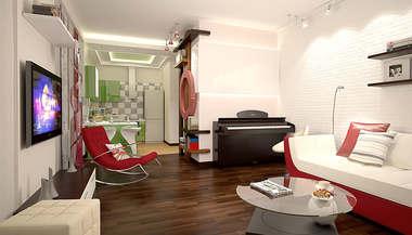 Функциональный дизайн двушки в 53 кв.м. м. Аэропорт | Портфолио работ