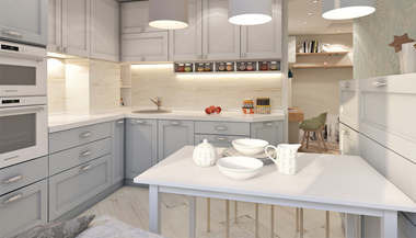 Дизайн 3-комнатной квартиры серии II-68, 71 кв.м., м. Тимирязевская