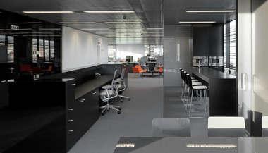 Дизайн проект интерьера офиса, м. Павелецкая