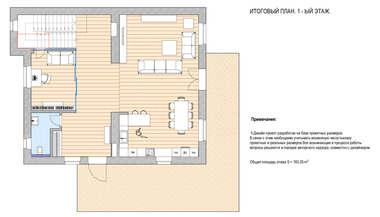 Планировка четырехэтажного коттеджа, Рублевское шоссе