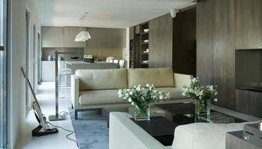 Дизайн проект интерьера одноэтажного таунхауса, Сочи