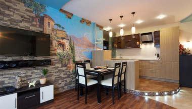 Дизайн двухкомнатной квартиры П-46 | Пример дизайн-проекта двухкомнатной квартиры