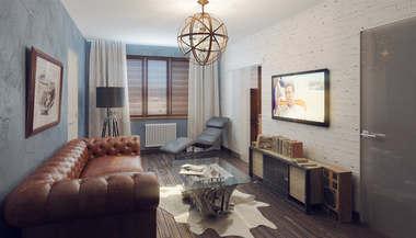 Дизайн и перепланировка квартиры КОПЭ М Парус