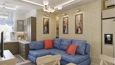Дизайн 3-комнатной сталинской квартиры, м. Первомайская