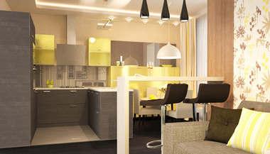 Дизайн квартиры, Подольск | Портфолио дизайн проект и перепланировка
