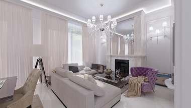 Дизайн интерьера дома в КП «Парк Авеню»