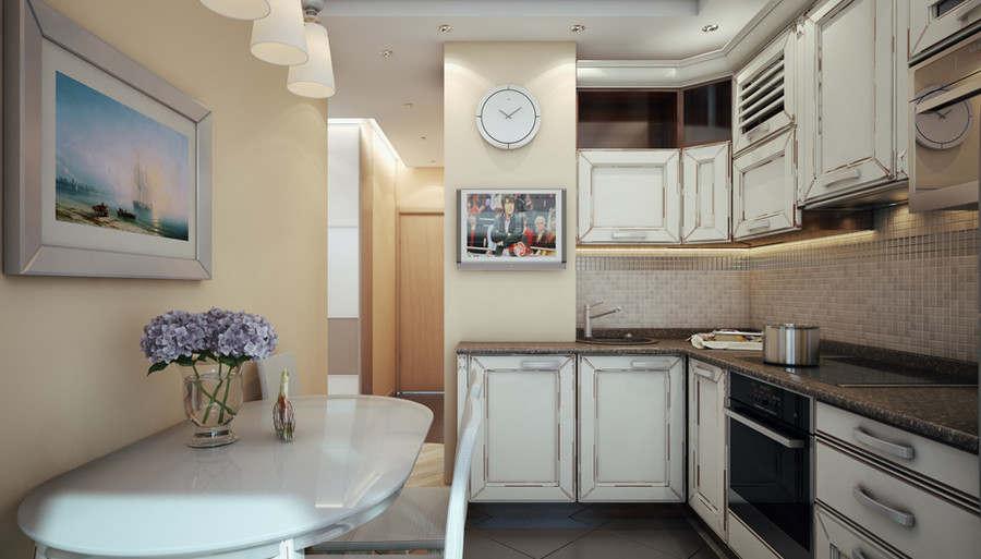 Дизайн двухкомнатной квартиры п 46