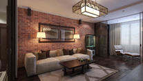 Дизайн трехкомнатной квартиры, ЖК Царицыно