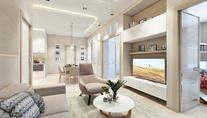 Дизайн-проект квартиры 104 кв.м. в ЖК «Авеню 77»