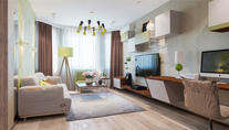 Интерьер трехкомнатной квартиры серии П-3М на Академической