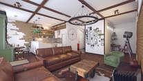 Интерьер 3-комнатной квартиры площадью 93 кв.м. в поселке Коммунарка