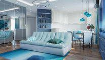 Проект трехкомнатной квартиры на Ленинском проспекте