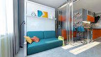 Проект двухкомнатной квартиры на м. Тропарево