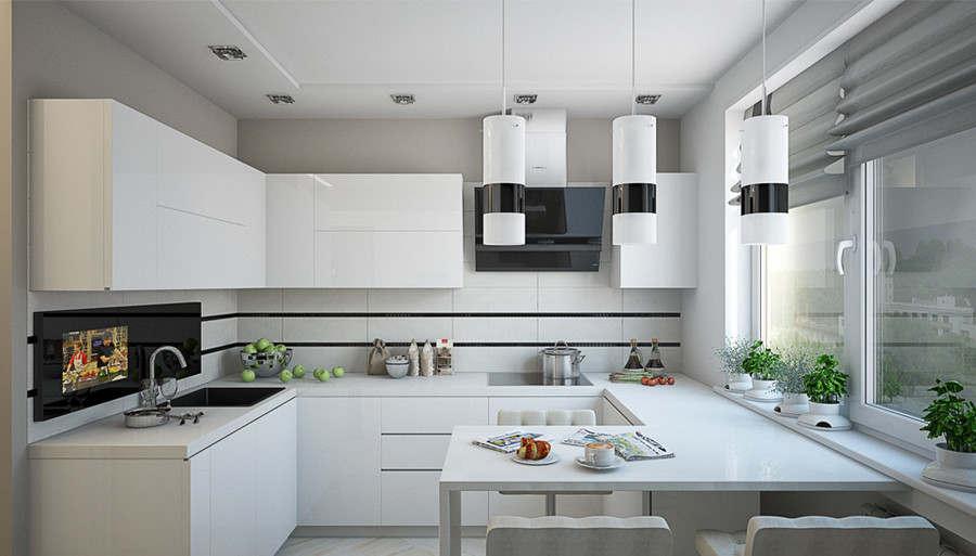 Объединение балкона с кухнец в доме серии ii-68-01 16.