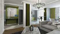 Дизайн пятикомнатной квартиры площадью 160 кв.м. в Климовске