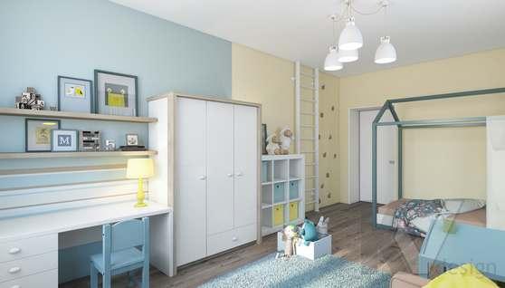 3D-визуализация детской в квартире на проспекте Вернадского - 2