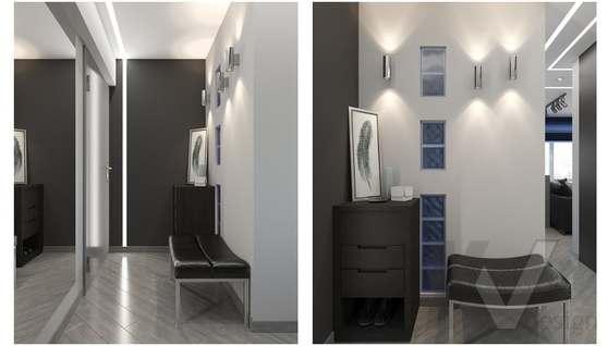 дизайн 1-комнатной квартиры, Красная Пресня - 8