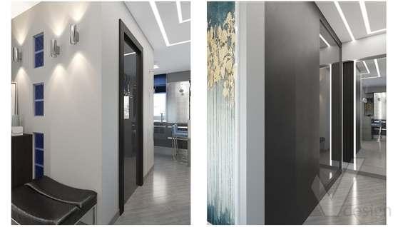 дизайн 1-комнатной квартиры, Красная Пресня - 9