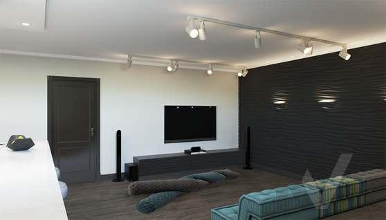 Дизайн цокольного этажа в доме 500 кв.м., Поведники - 2