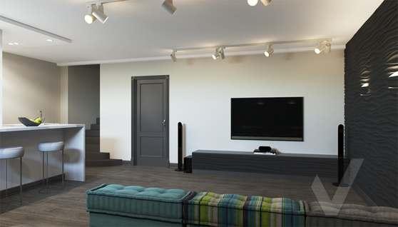 Дизайн цокольного этажа в доме 500 кв.м., Поведники - 3