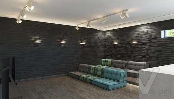 Дизайн цокольного этажа в доме 500 кв.м., Поведники - 4