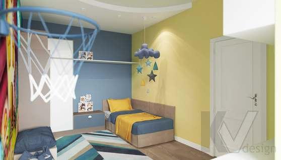 Дизайн детской комнаты в доме 500 кв.м., Поведники - 1