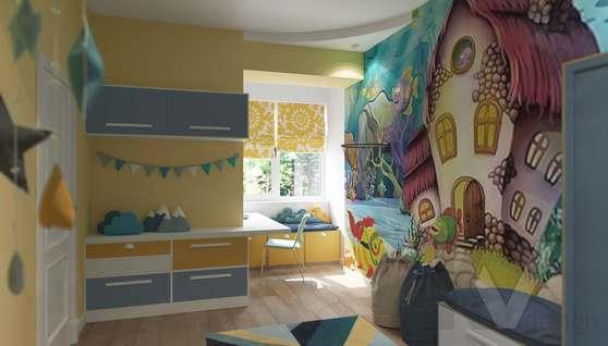 Дизайн детской комнаты в доме 500 кв.м., Поведники - 2