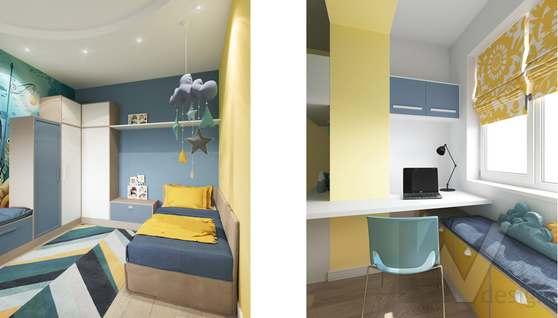 Дизайн детской комнаты в доме 500 кв.м., Поведники - 3