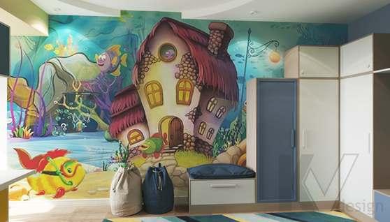 Дизайн детской комнаты в доме 500 кв.м., Поведники - 4