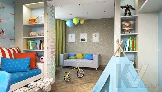 Дизайн детской в 2-комнатной квартире, Некрасовка Парк - 4