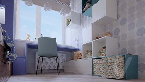 дизайн детской в 3-комнатной квартире II-68 - 3