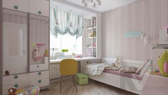 дизайн детской в 3-комнатной квартире II-68 - 4