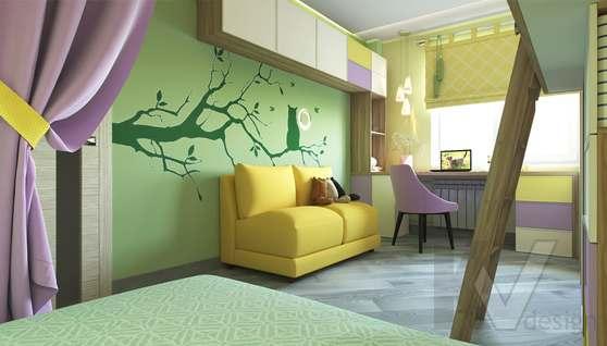 дизайн детской в 3-комнатной квартире, Войковская - 2