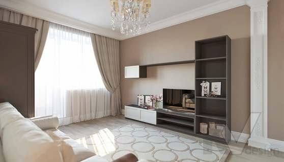 Дизайн гостевой комнаты в доме 500 кв.м., Поведники - 2